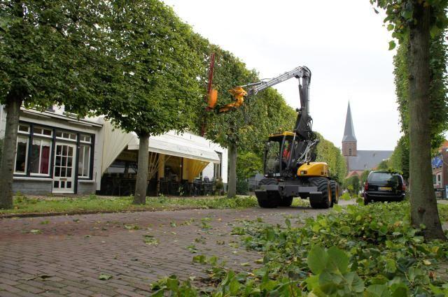 Mecalac 12 MTX Speeder voor Van Burk & Zoon v.o.f. uit Tricht
