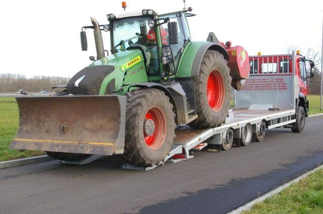 22 ton's Oprij-Trakker van Veldhuizen uit Groenekan