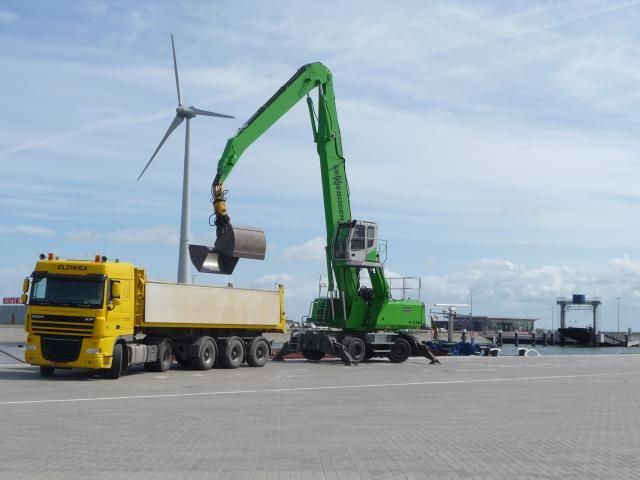 Sennebogen 835M E-serie overslagmachine nu bij Kuiken N.V. uit Emmeloord