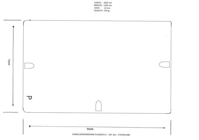 VERMIST: 32 stalen rijplaten van De Kuiper Noordeloos B.V. te Tricht