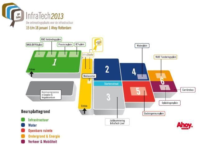 Vernieuwende ideeën en kennisuitwisseling op InfraTech 2013