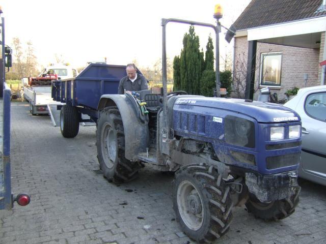 De vermiste tractor van Gebr. Vollmüller B.V. te Bergambacht