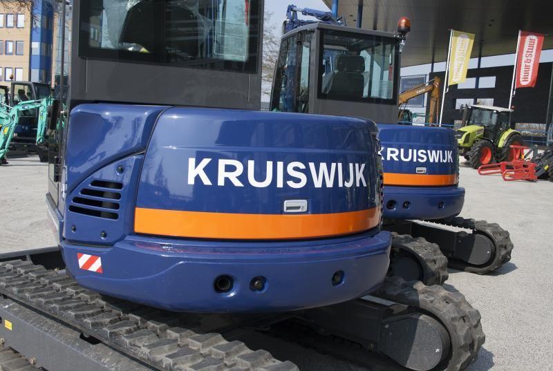 2 stuks IHI 65VX midigraver voor Kruiswijk Groep uit Vlist