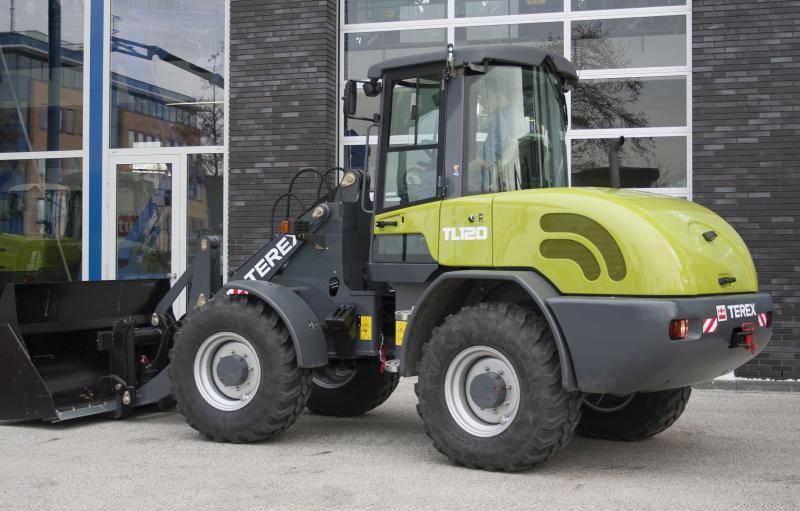 Terex TL 120 shovel voor Bruggeman Mechanisatie B.V. met vestigingen in Broekland en Lemele