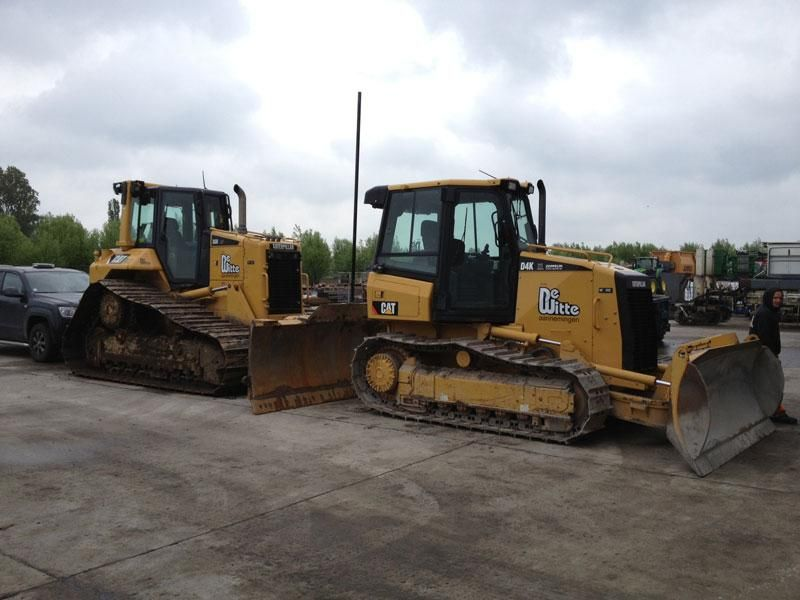 CAT D6N bulldozer met Trimble GCS900