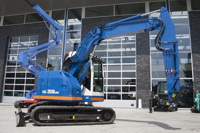 KATO HD 308 USV voor Erkelens Ouderkerk a/d Amstel