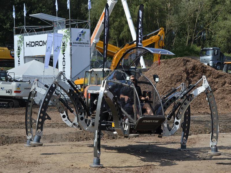 Mantis Robot in actie