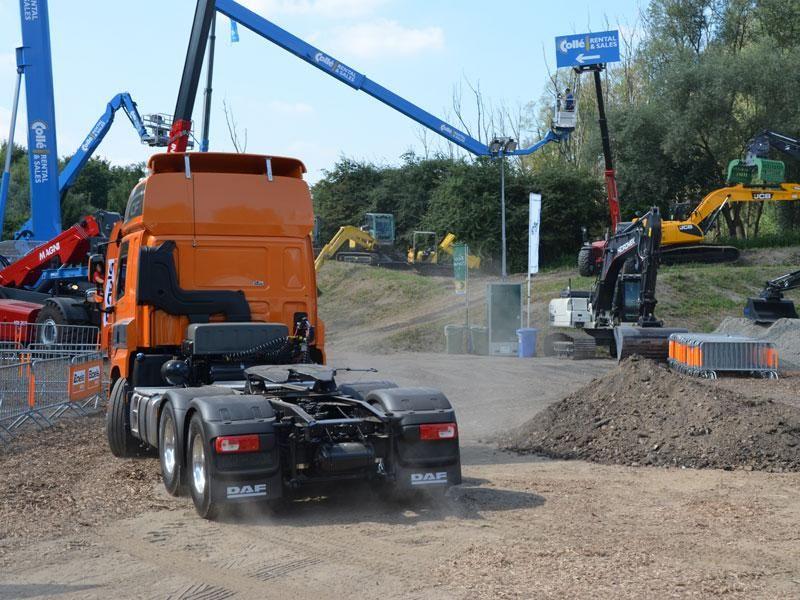 Euro 6 LF en CF Construction in de demo zone: stoer, sterk, efficiënt en ontwikkeld voor een maximale levensduur