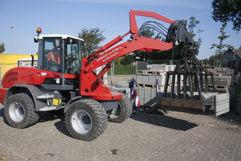 Speciale TEREX TL120s voor Van Etten Berkel en Rodenrijs