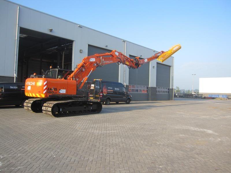 Hitachi ZX 180 LC-5 rupskraan voor Waterschap Groot Salland Rouveen