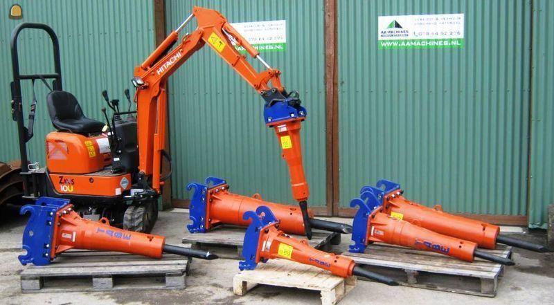 Tabe vibrorippers voor AA Machines Dordrecht