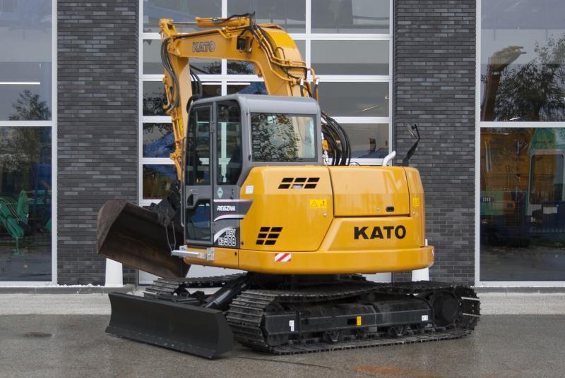 KATO HD308 US V rupsgraafmachine voor Overvest Langbroek