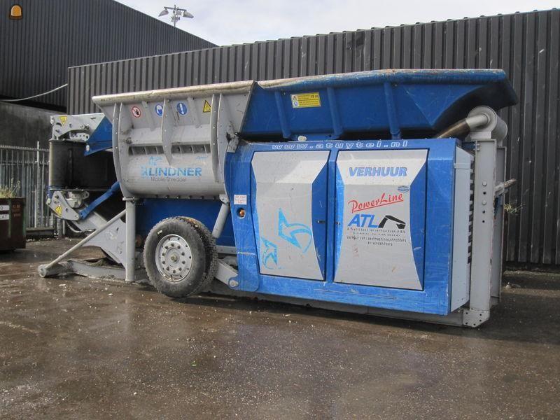 Duo Lindner Urraco 75 Groenafval verkleiningsmachines voor Tuytel uit Oud-Alblas