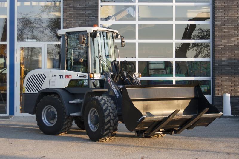 TEREX TL 80 compacte wiellader voor LMB Veldman