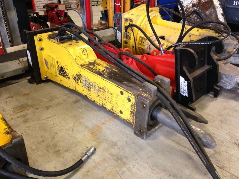 Vermiste Atlas Copco MB 1700 DUST Hydraulische hamer, 1700 kg, s/n DEQ122086, bouwjaar 2013