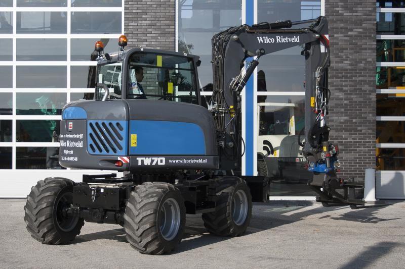 Terex TW70 voor Rietveld Mijdrecht