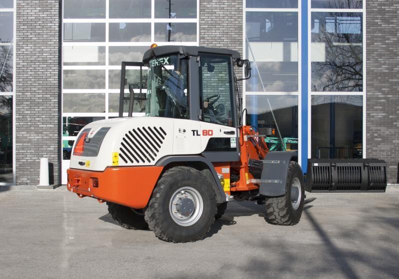 Terex TL 80 compacte wiellader voor Kloens uit Dordrecht