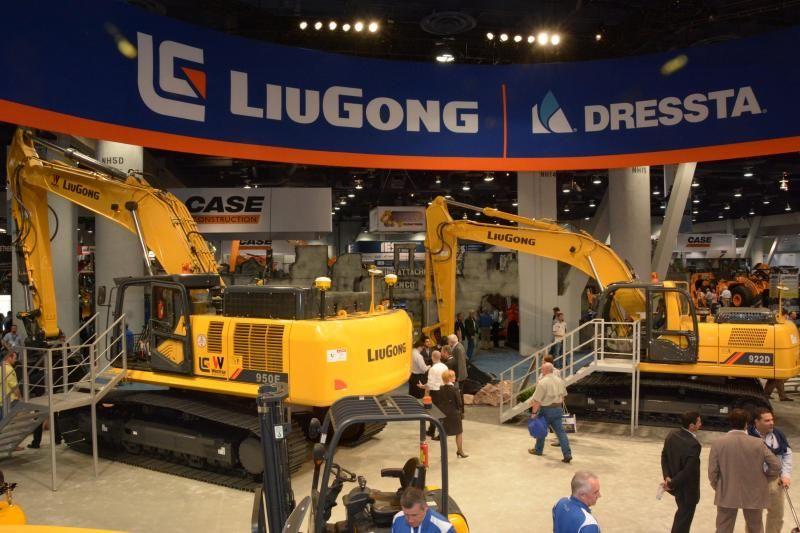 LiuGong onthult twee nieuwe machines op CONEXPO 2014