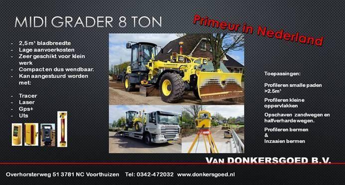 HBM BG 70 ta4 midi grader voor Van Donkersgoed uit Voorthuizen