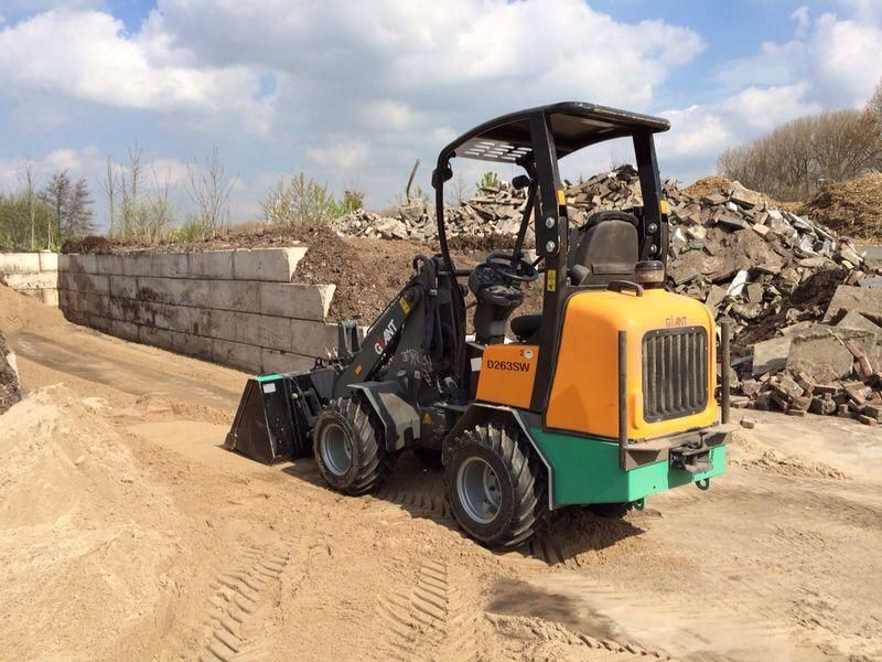 Vermiste Giant D263sw mini shovel in Zoetermeer