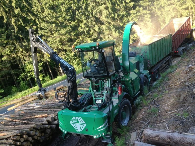 29 en 30 augustus demonstratie Albach Diamant  chipper te Lienden