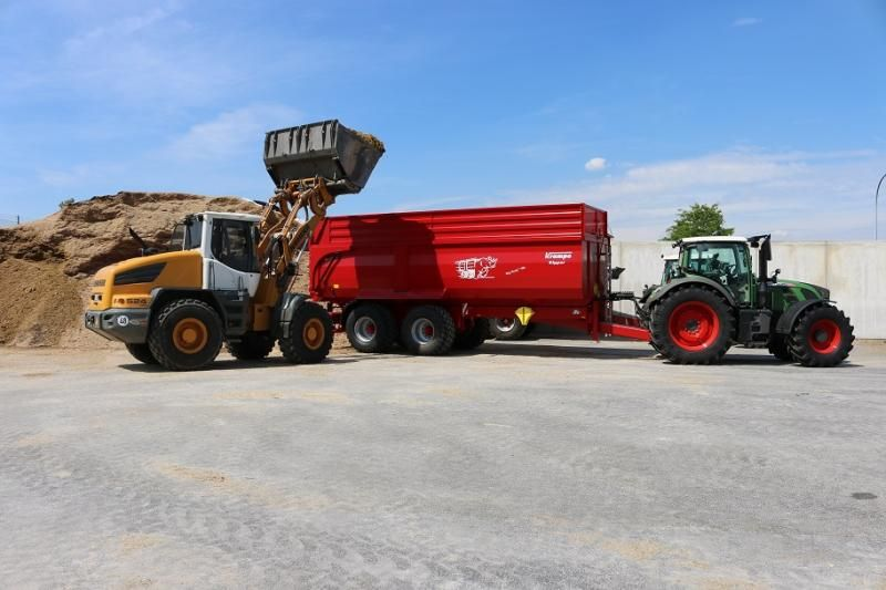 Krampe Big Body 790 kipper: rijcomfort en kostenbesparing