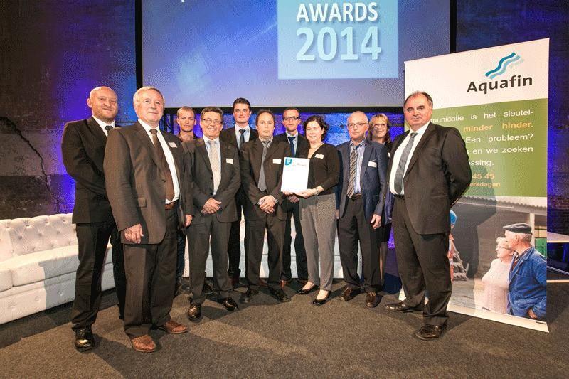 Aannemer Desot nv uit Boezinge won de Minder Hinder award