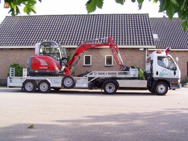 Voorbeeld minigraver van Blokland BV uit Ter Aar