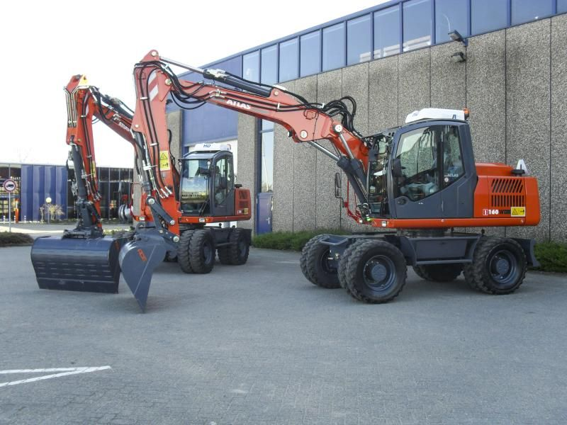 2x Atlas 160 W voor Van der Pols uit Pernis Rotterdam