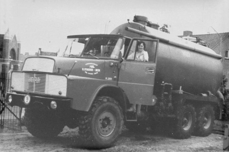 Met deze Hanomag Henschel H-261 is het omstreeks 1975 allemaal begonnen