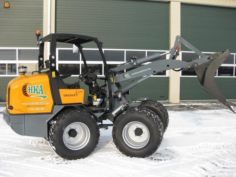 Vermiste GIANT V 6004 TXtra mini-shovel van Kempen BV HKA uit Nieuwkoop