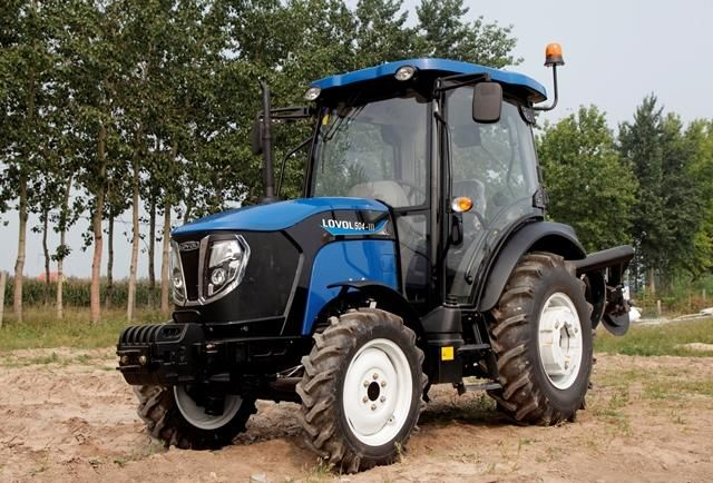 Nieuwe Chinese Lovol TB 504-III tractor komt naar Nederland