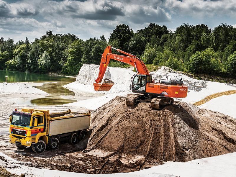 Hitachi ZX 350 LC-6 biedt duurzaamheid met behoud van efficiëntie