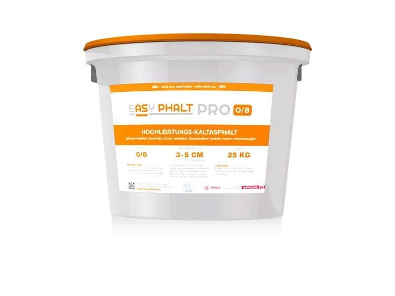 eASyPHALT®/PRO 0/8mm voor inbouw 3-5cm nu 18 maanden houdbaar