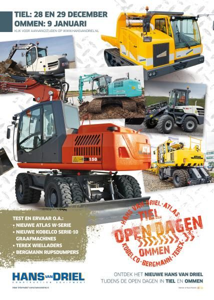28 en 29 december Open dagen Hans van Driel in Tiel