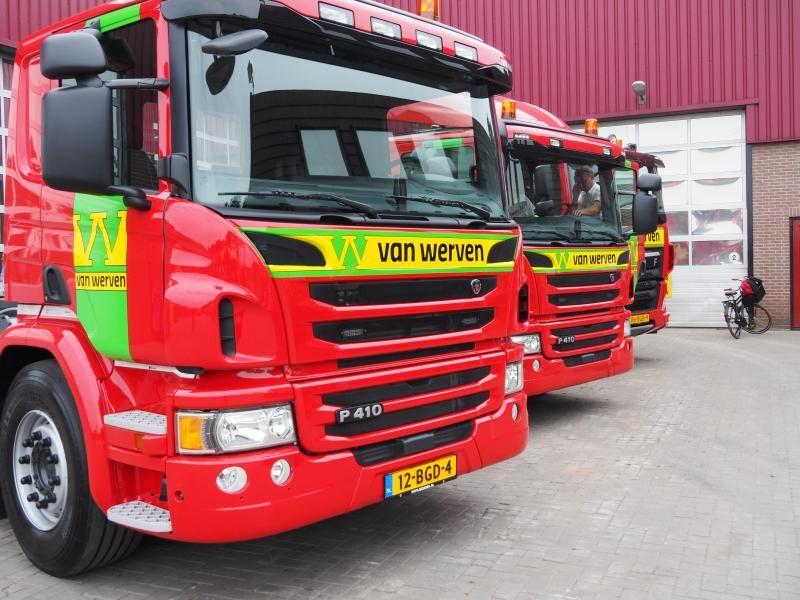 Scania vrachtwagens voor Van Werven Oldebroek