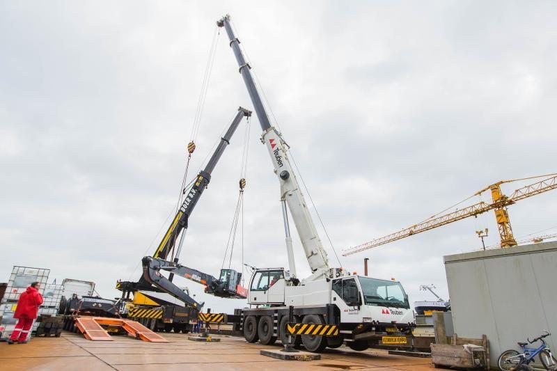 Speciaal project: Opbouw Atlas 350MH op een schip