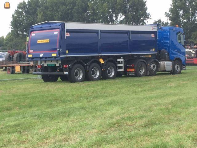 AJK kiep trailer voor VOF De Graaff uit Wijk en Aalburg