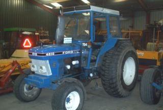 Foto vergelijkbare tractor