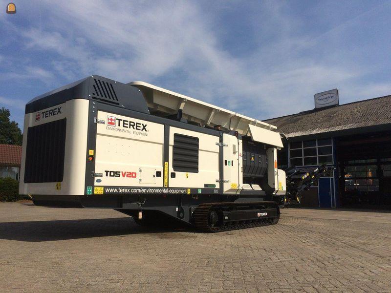 Terex TDS V20 Ecotec Groenafval verkleiningsmachine voor Tuytel Oud-Alblas