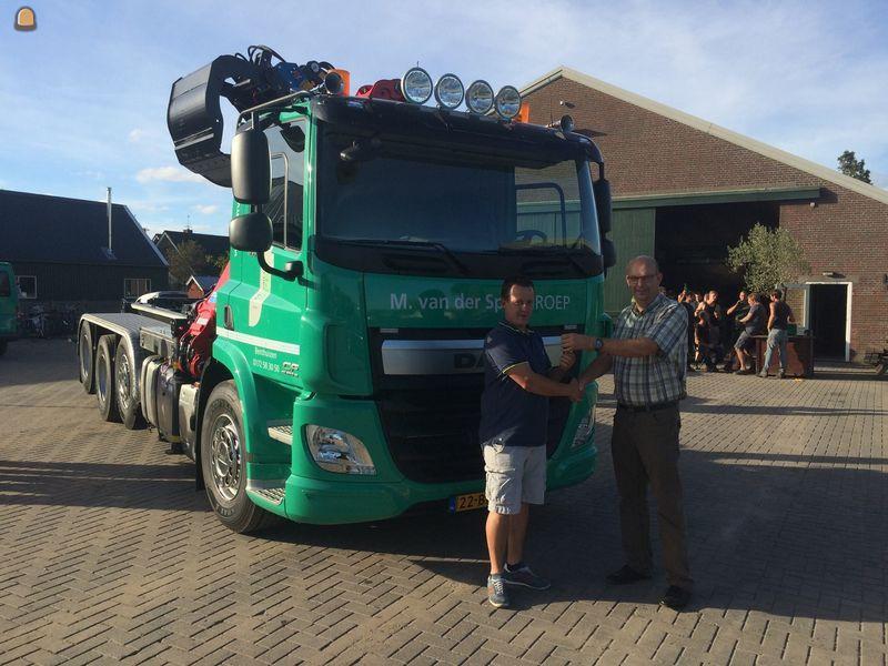 DAF CF 400 combiwagen voor Van der Spek Benthuizen