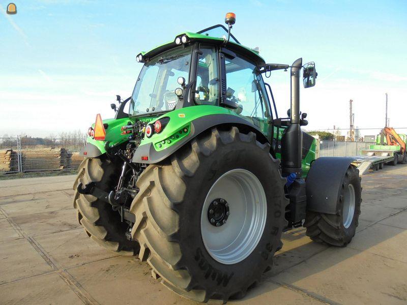 Deutz Fahr Agrotron 6185TTV tractor voor J. Ruizendaal Loon- en Grondverzetbedrijf Naarden