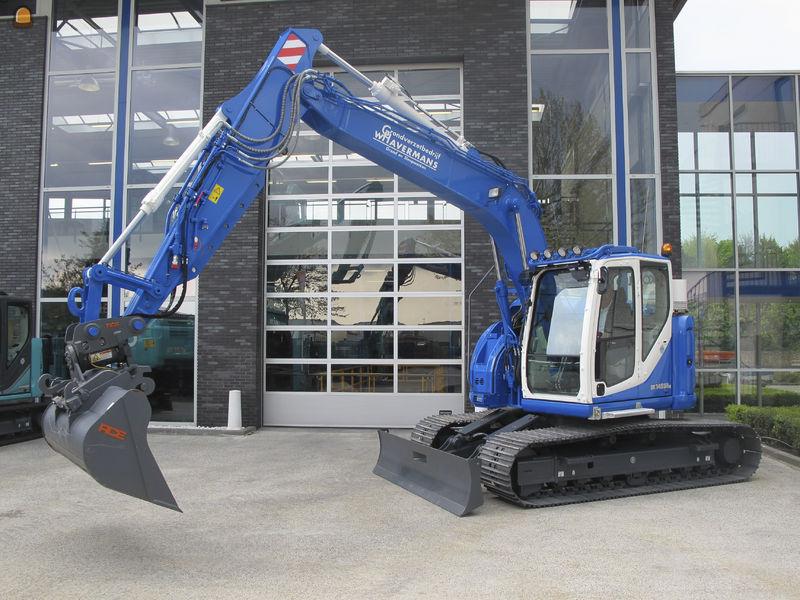 Kobelco SK 140 SRlc rupskraan voor Wilfred Havermans uit Hooge Zwaluwe