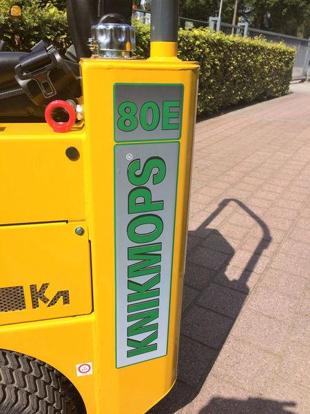 De KM80E wordt uitgerust met een batterijcapaciteit vanaf 160Ah