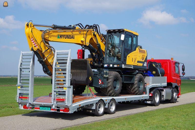 Veldhuizen start productie kleine vrachtwagen opleggers