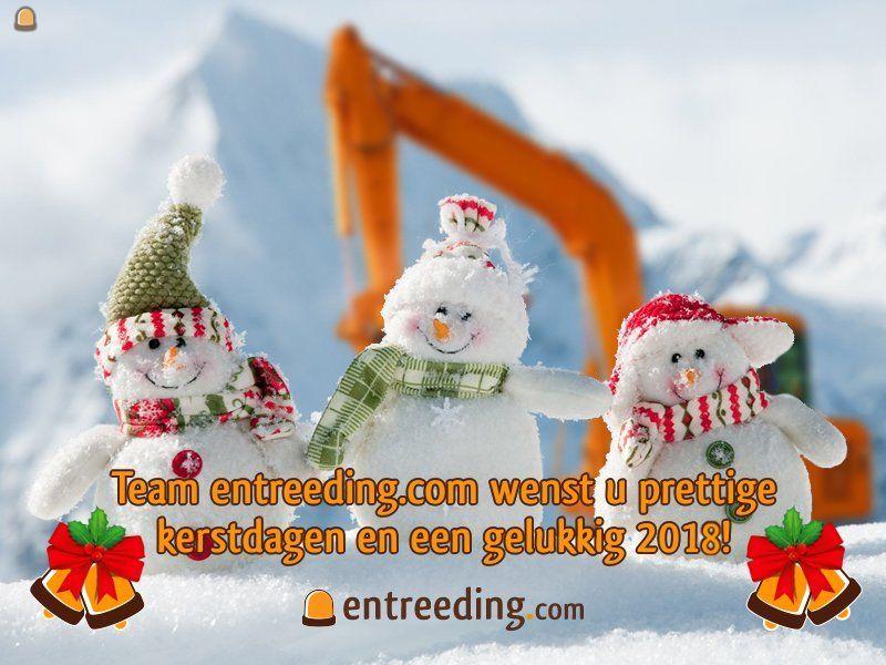 Team entreeding.com wenst u fijne feestdagen en een gelukkig 2018 !