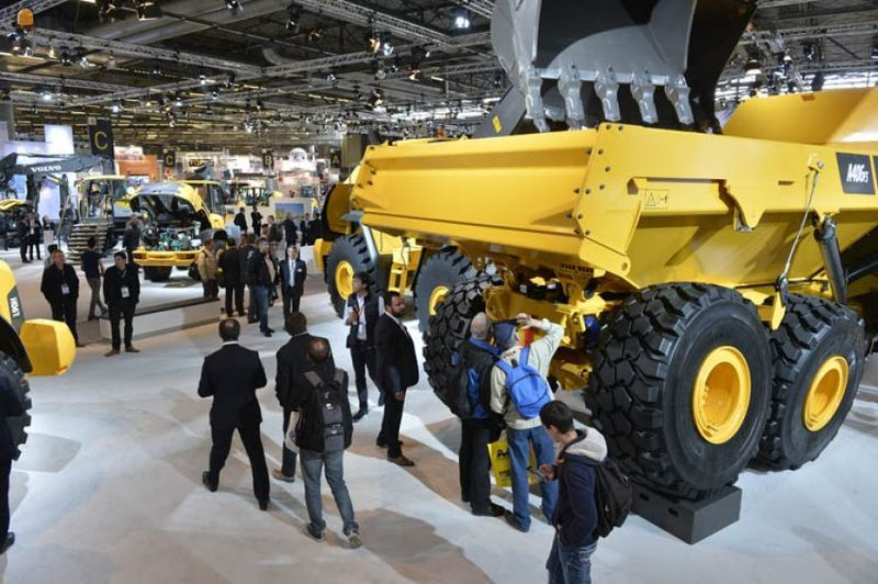 Intermat Paris, de internationale vakbeurs voor bouw en infrastructuur 23 t/m 28 april 2018