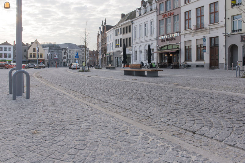 bron foto's: Beltrami - Markt in Ouderaarde
