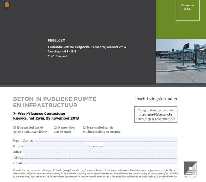 Beton in publieke ruimte en infrastructuur