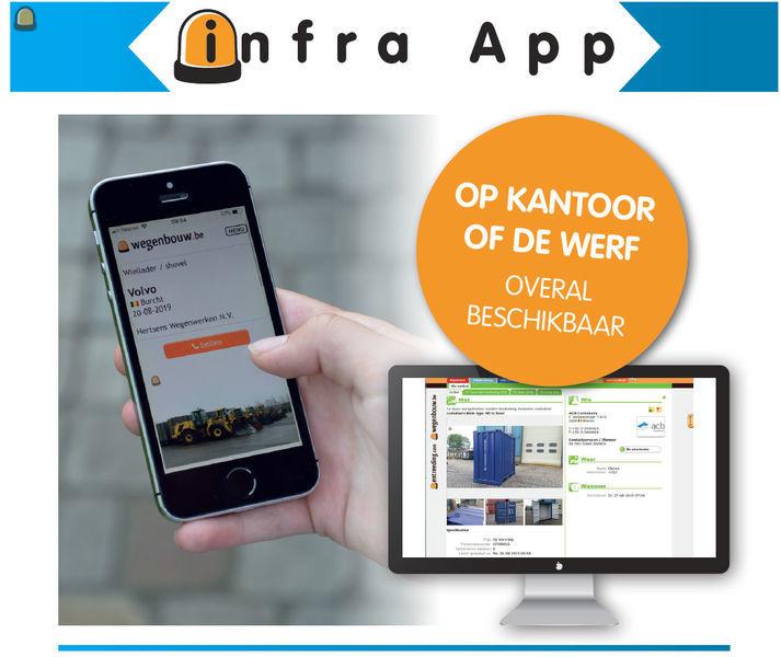Digitaliseer met de Infra App